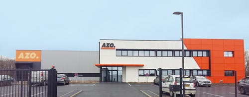 2016: Construction underway at AZO's sister companies